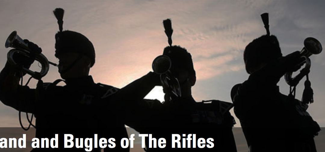 The Waterloo Band and Bugles of the Rifles Charity Concert