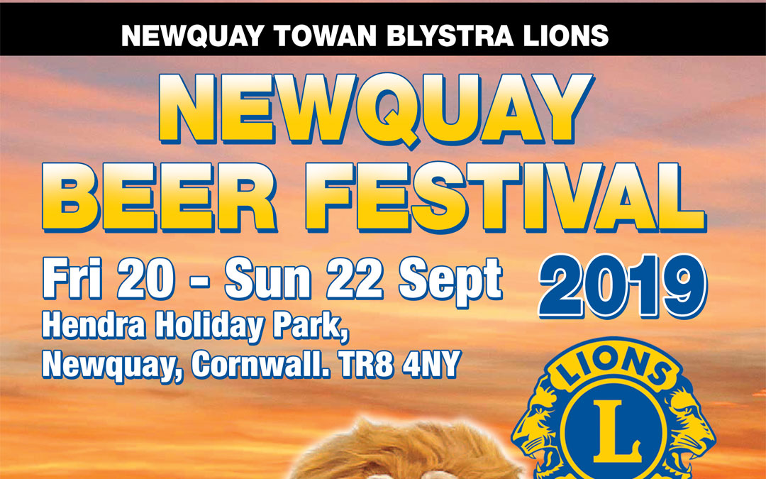 Beer Festival Programme Released online