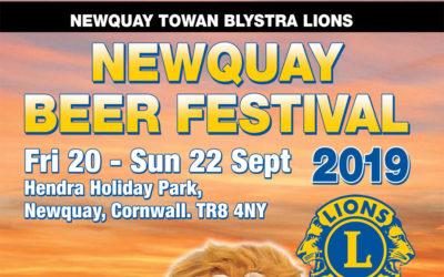 Beer Festival Programme Released online